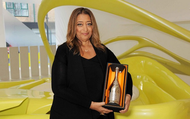 Zaha Hadid named Business Woman of the Year  Zaha Hadid named Business Woman of the Year 140