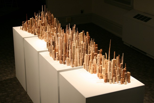 OUTSTANDING SKYLINE SCULPTURES WITH MORE THAN 5000 PIECES  OUTSTANDING NEW SKYLINE SCULPTURES WITH MORE THAN 5000 PIECES 155