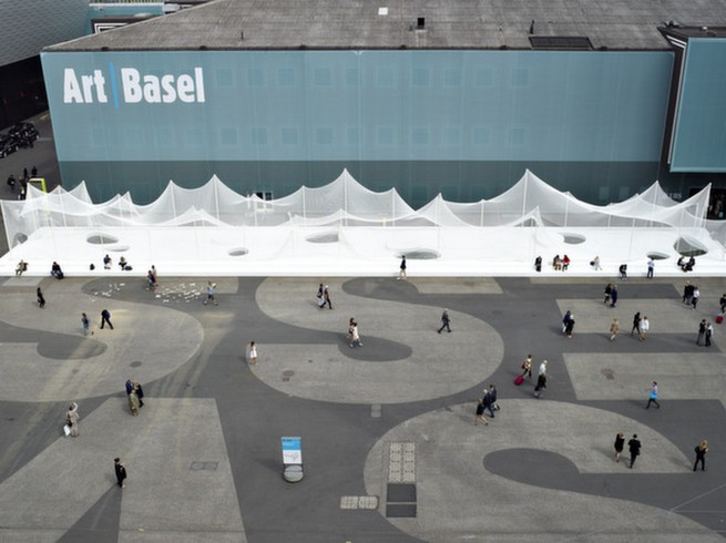 ART BASEL PLANS RIRKRIT TIRAVANIJA ART INSTALLATION  ART BASEL PLANS RIRKRIT TIRAVANIJA ART INSTALLATION 215