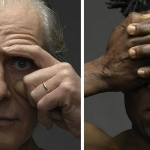 Jeffrey Vanhoutte's new hybrid-human figures photography