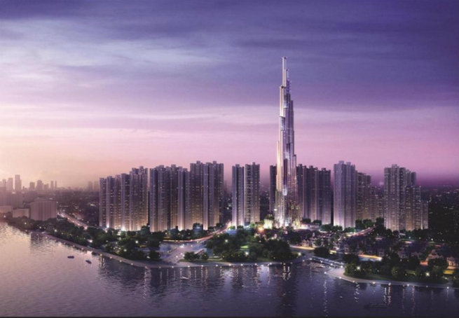 atkins-starts-building-the-tallest-building-in-vietnam  Vietman's Tallest Building by Atkins atkins starts building the tallest building in vietnam