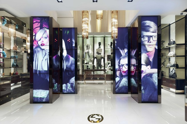 GUCCI NEW RETAIL CONCEPT IN MILAN FASHION WEEK  GUCCI NEW RETAIL CONCEPT IN MILAN FASHION WEEK 4