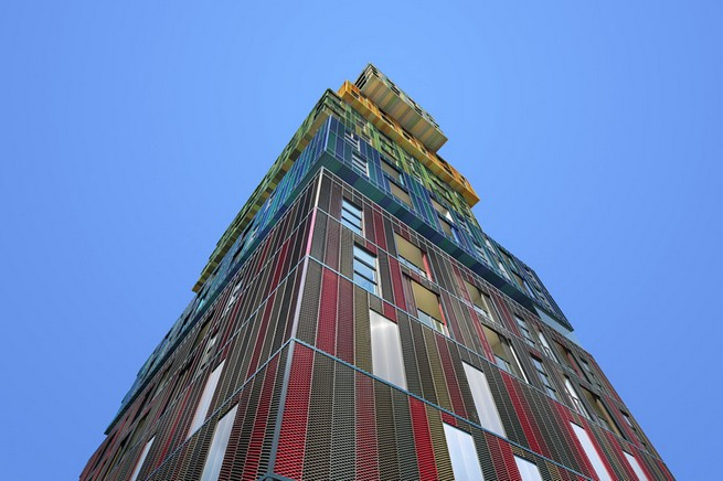 Colorful-Metal-Architecture-by-Matthew-Johnston (6)  Colorful Metal Architecture by Matthew Johnston Colorful Metal Architecture by Matthew Johnston 6