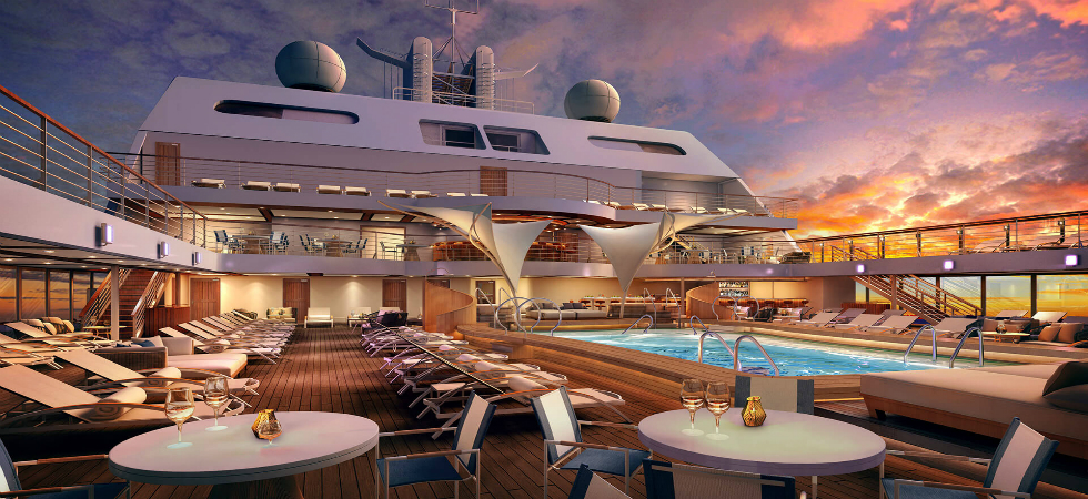 Luxury Yatch  LUXURY DESIGN IN SEABOURN'S NEW SHIP DDN1