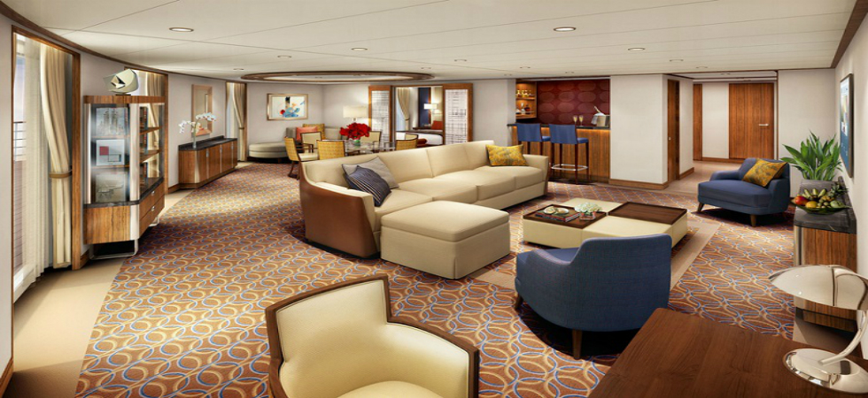 Luxury Yatch Interior Design  LUXURY DESIGN IN SEABOURN'S NEW SHIP DDN5