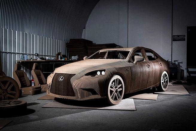 "The ""Origami Car"" by Lexus   The ""Origami Car"" by Lexus the origami car by lexus 1"