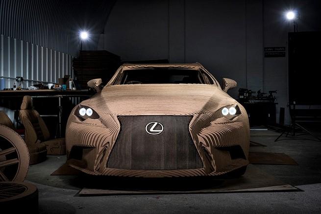 "The ""Origami Car"" by Lexus   The ""Origami Car"" by Lexus the origami car by lexus 3"