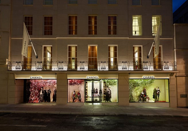 Chanel's Bond Street boutique reopens with triple size  Chanel's New Bond Street boutique reopens with triple size 57