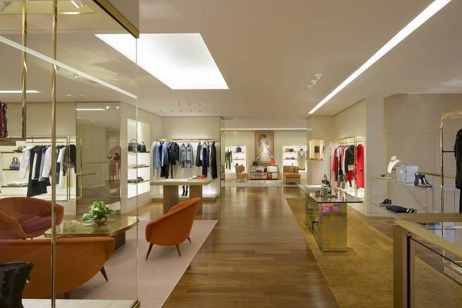 Louis Vuitton Flagship Store Interior Design  Peter Marino Completes Louis Vuitton's NYC Boutique Renovation Louis Vuitton Flagship Store Interior Design