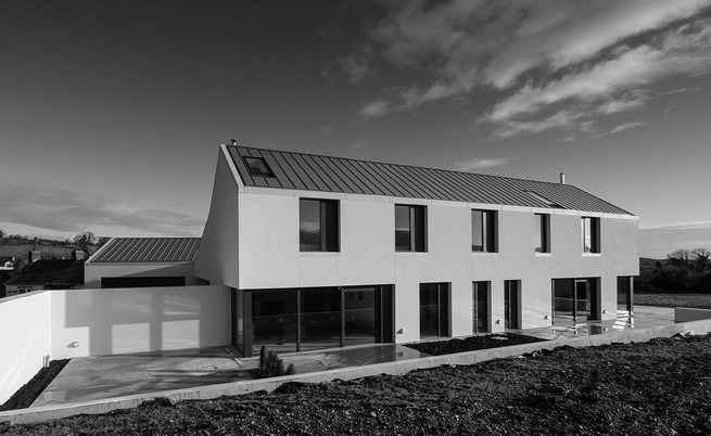 The House at Maghera  by Belfast architecture   Two New Nominees for RIBA House of the Year Award The House at Maghera by Belfast architecture 1