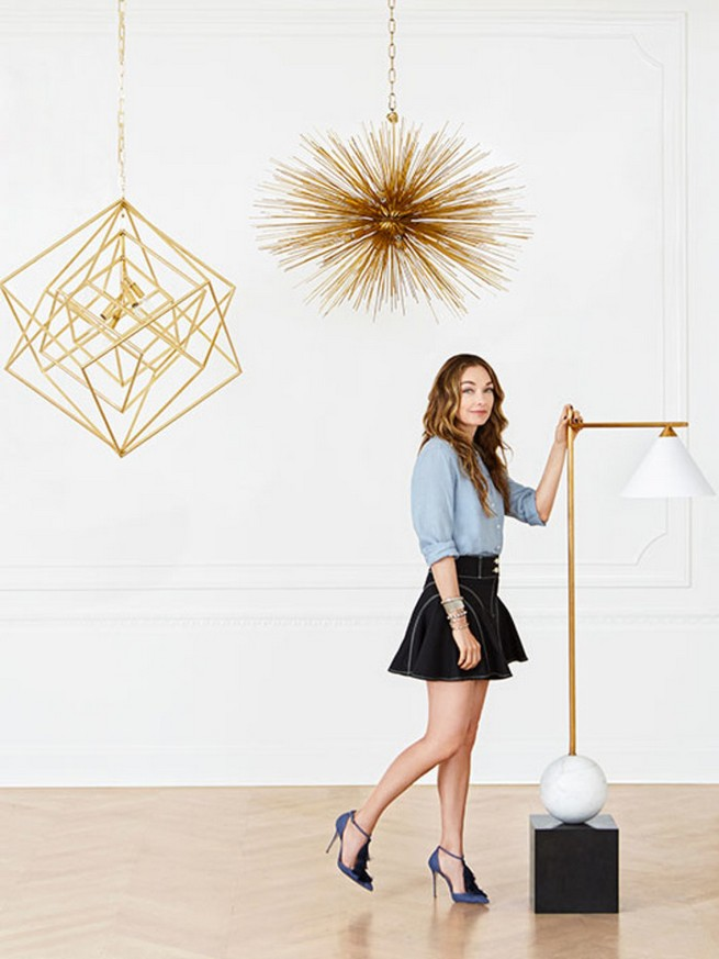 THE FIRST KELLY WEARSTLER'S LIGHTING COLLECTION  THE FIRST KELLY WEARSTLER'S LIGHTING COLLECTION dam images daily 2015 05 kelly wearstler lighting kelly wearstler visual comfort lighting collection 01