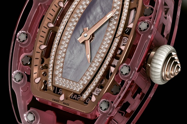 Entirely Pink Sapphire Watch by Richard Mille  Entirely Pink Sapphire Watch by Richard Mille 23