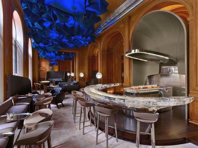 2015 European Hotel Design Awards - The Winners  2015 European Hotel Design Awards - The Winners Le Bar at H  tel Plaza Ath  n  e