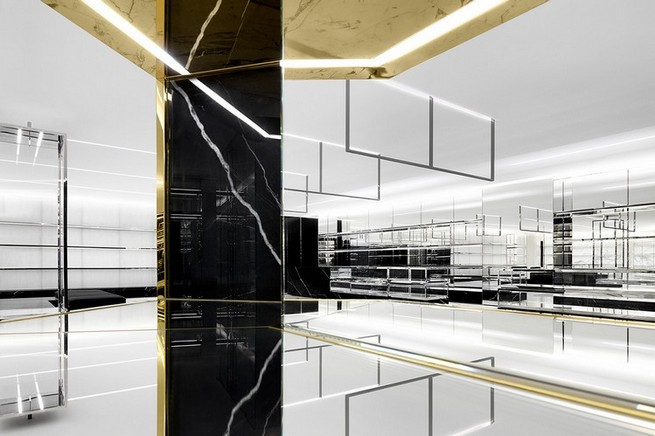 World's Largest Saint Laurent Store Opens in Japan  World's Largest Saint Laurent Store Opens in Japan Saint Laurent flagship store Hong Kong