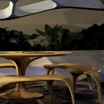 Zaha Hadid Launches Volun Dining Pavillion at Design Miami