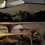 Zaha Hadid Launches Volun Dining Pavillion at Design Miami