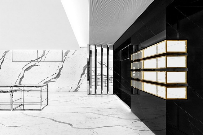 World's Largest Saint Laurent Store Opens in Japan  World's Largest Saint Laurent Store Opens in Japan saint laurent hong kong concept store 0