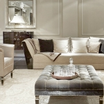 HH Oasi 3 seater sofa and Vogue armchair with Dorian coffee tables