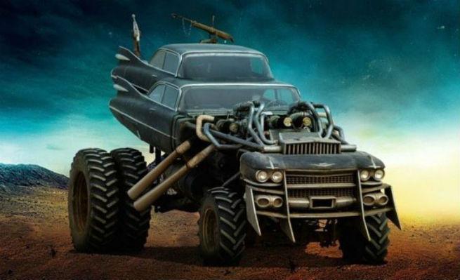 """Mad Max: Fury Road production design"" COLIN GIBSON, MAD MAX: FURY ROAD, OSCARS, PRODUCTION DESIGN Mad Max and the Oscar 2016 nomination by Colin Gibson mad max fury road cars gigahorse foto1"