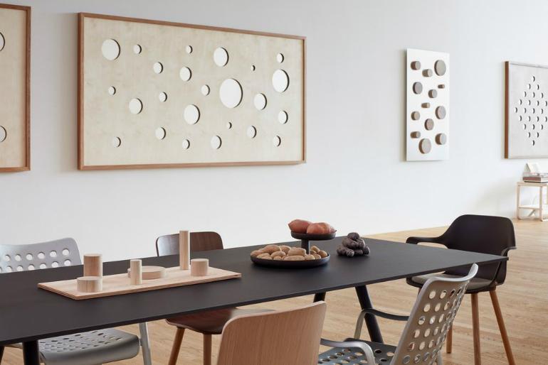 2 VitraHaus Jasper Morrison creates perfect artist's studio for VitraHaus 2 6