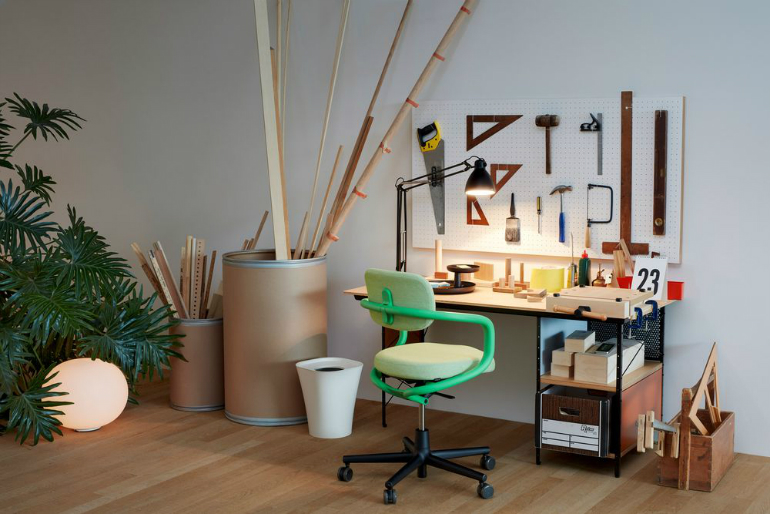3 VitraHaus Jasper Morrison creates perfect artist's studio for VitraHaus 3 7