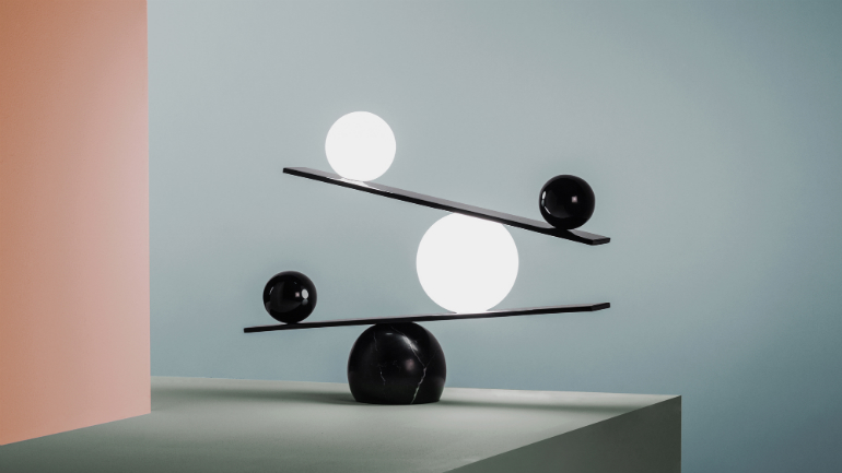 Trends trends Design Forecast: 5 Trends to Expect this Year 4 Balance lamp by Victor Castanera for Oblure