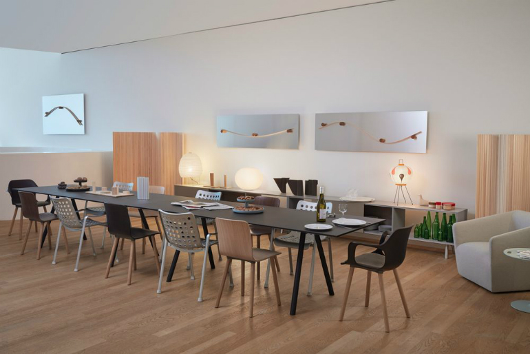 5 VitraHaus Jasper Morrison creates perfect artist's studio for VitraHaus 5 6