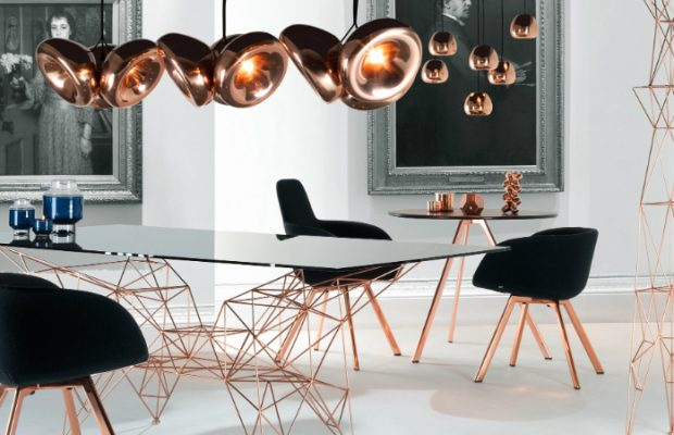 Home Decor Trends With Metallic Accents
