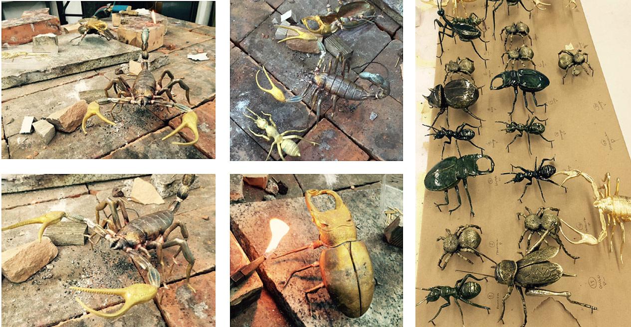 "nature inspired design trends nature inspired design trends ""Bugs"" – 2017 Nature Inspired Design Trend Boca do Lobo Metamorphosis Series 8"