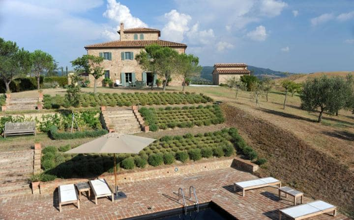 Luxury Villas in Italy  luxury villas in italy 10 Luxury Villas in Italy - Exclusive Design La Civettaia 2565061a large