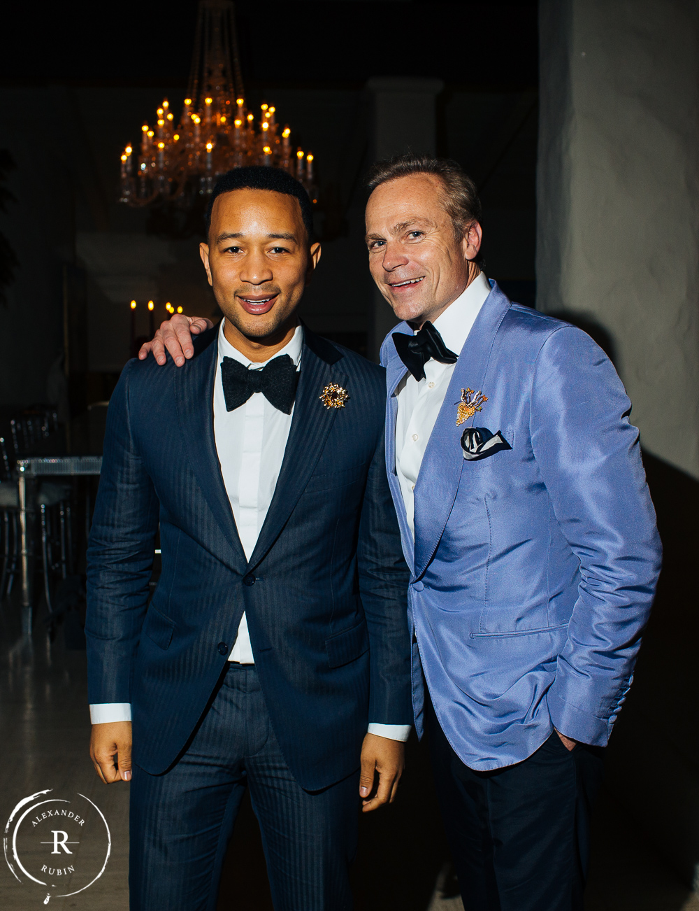 John Legend's Private Dinner at Boisset's Home