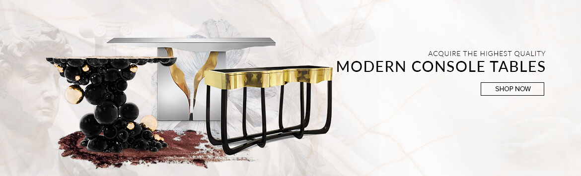 Modern Console Tables Banner