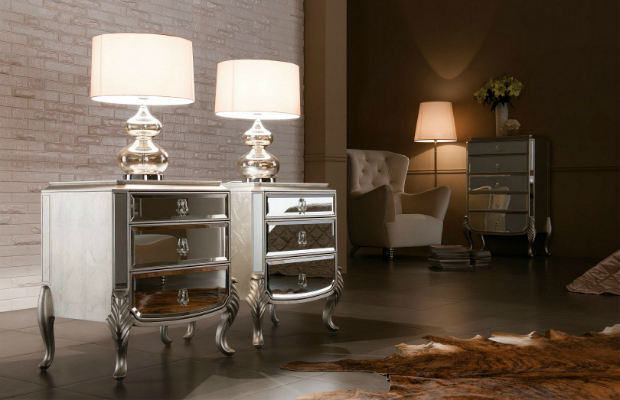 Mirrored Nightstand The Special Touch For Your Master