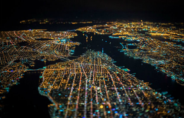 New York City captured from 7 500 feet in the air  New York City captured from 7500 feet in the air f12