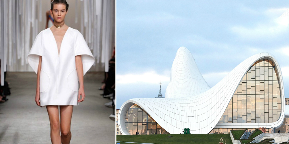 Fashion Designers Influenced By Architecture