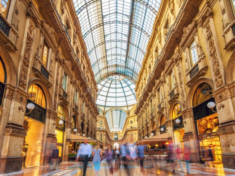 The Top 5 Milan Shopping Streets shopping street The Top 5 Milan Shopping Streets Corso Vittorio Emanuele II