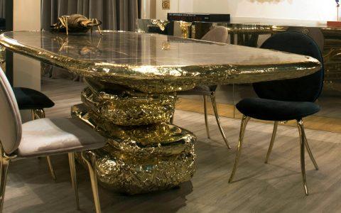 luxury furniture Luxury Furniture: Stonehenge Series by Boca do Lobo stonehenge dining table boca do lobo 480x300