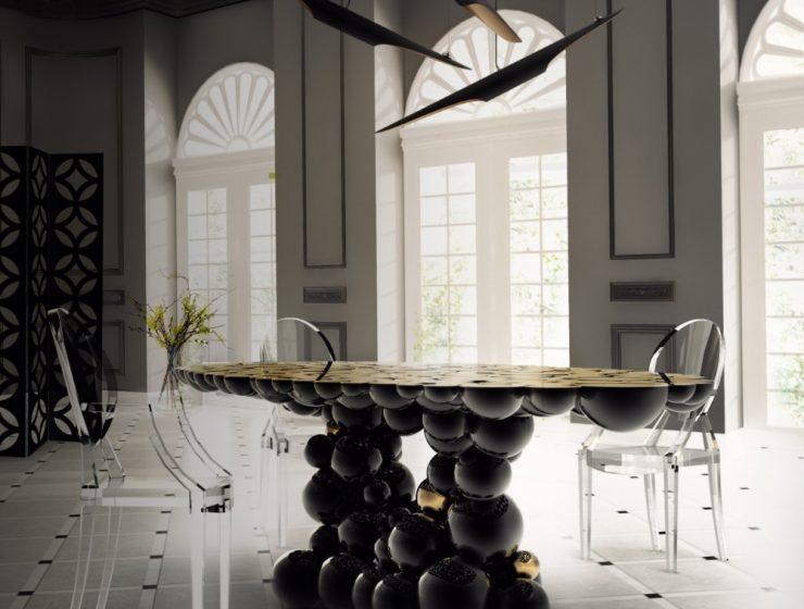 Design Newton Series: The Alchemy of Art & Design newton dining 6 740x560