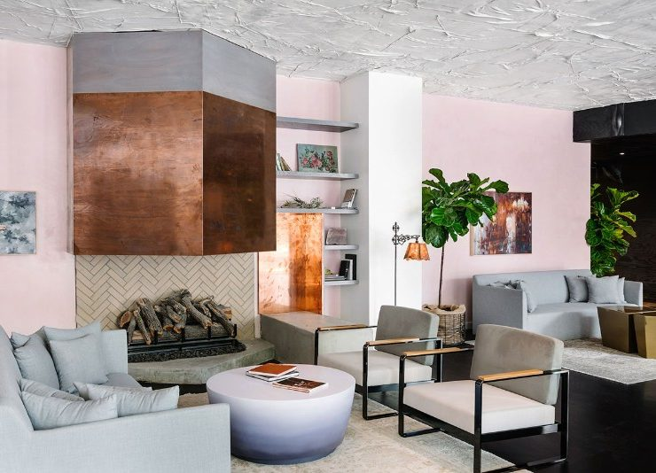 luxury hotel The LINE Luxury Hotel Renews a Modernist Landmark in Austin  The LINE Luxury Hotel Renews a Modernist Landmark in Austin 8 740x534