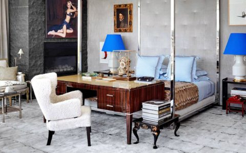 Contemporary Decor A Beverly Hills Home Goes From Antique Accents to a Contemporary Decor feature 480x300
