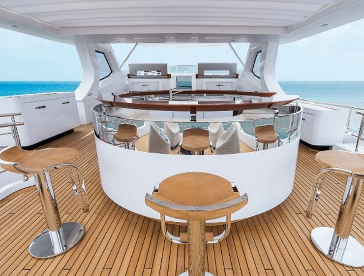 A Luxury Yacht Designed by Achille Salvagni