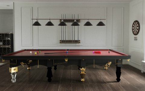 snooker table The Metamorphosis Snooker Table – Furniture Invaded by Bugs The Metamorphosis English Snooker feature 480x300