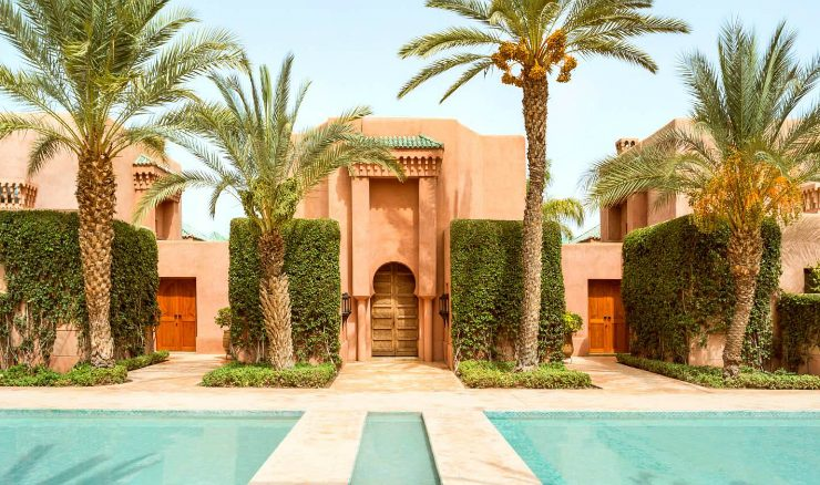 design project Amanjena, A Design Project Turned Into A Magical Oasis in Morocco A Project Turned Into A Magical Oasis in Morocco feature 740x438
