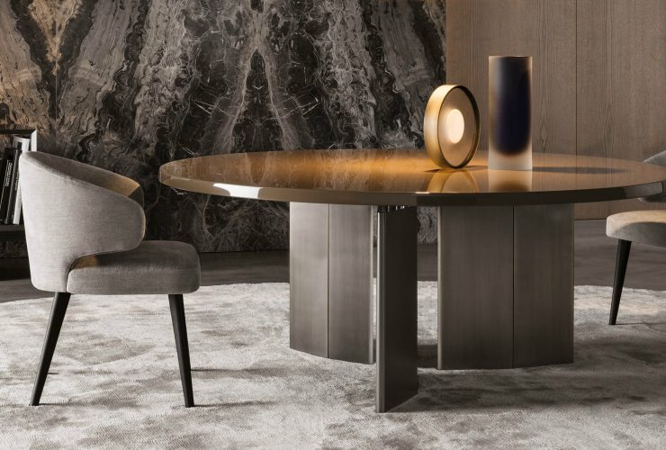 round dining tables Dreamy Purchases: 10 Round Dining Tables You Need To Have Dreamy Purchases 10 Dining Tables You Need To Have feature 740x500