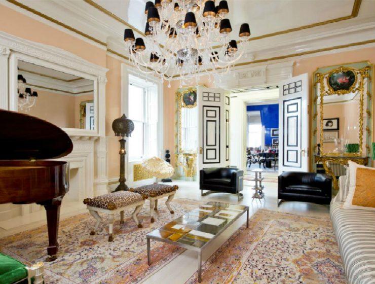 sasha bikoff Inside The Supreme Dakota Apartment Designed By Sasha Bikoff FEATURED 740x560
