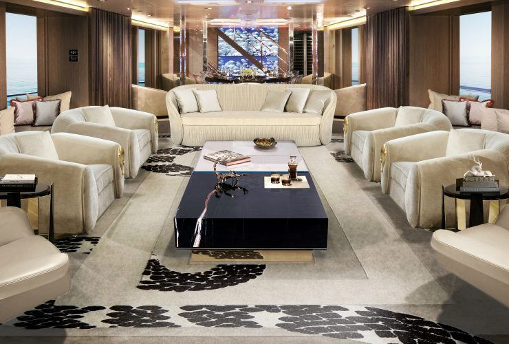 modern furniture Modern Furniture For Your Imposing Luxury Yacht Furniture For Your Imposing Yacht feature 740x500