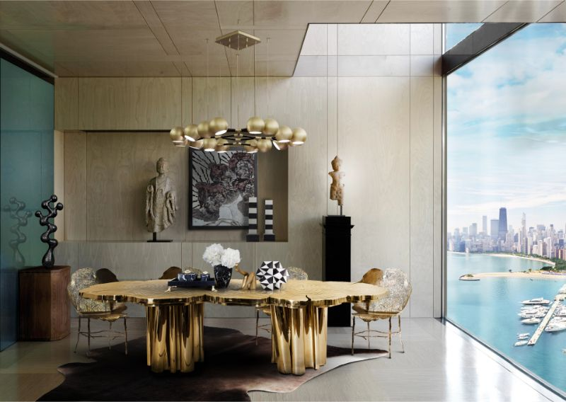 Holiday Fortune Coming Your Way With This Modern Dining Table (4) modern dining table Holiday Fortune Coming Your Way With This Modern Dining Table Holiday Fortune Coming Your Way With This Modern Dining Table 4