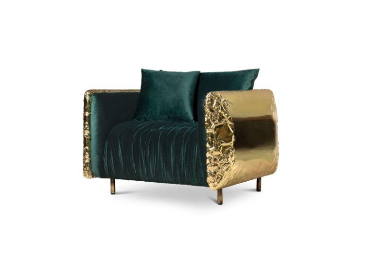 maison et objet Timeless Interiors From Boca do Lobo At Maison Et Objet 2020 imperfectio armchair green 02