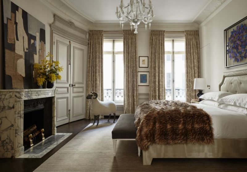 top interior designers French Top Interior Designers You Need To Know Paris apartment vintage interiors Champeau Wilde 5 800x557