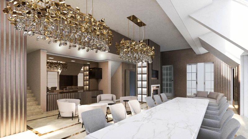 Exquisite Interior Design Projects By Top Italian Interior Designers interior design project Exquisite Interior Design Projects By Top Italian Interior Designers dome